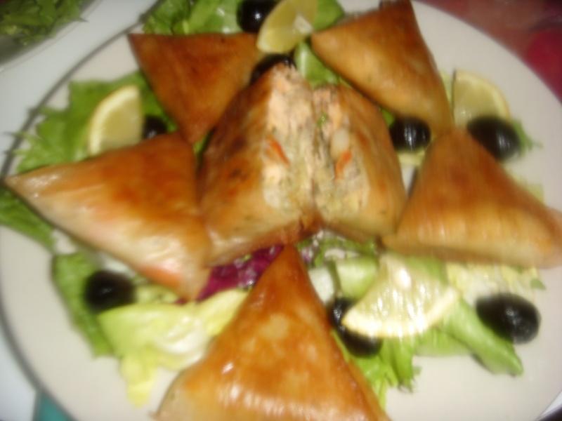 Briwattes ou Briouates marocaines au saumon Pastil36