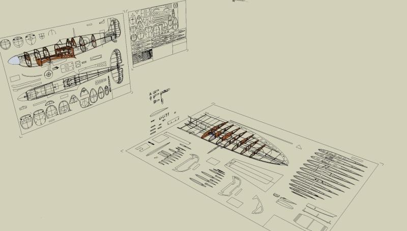 Modélisme avec Sketchup Spitfi12