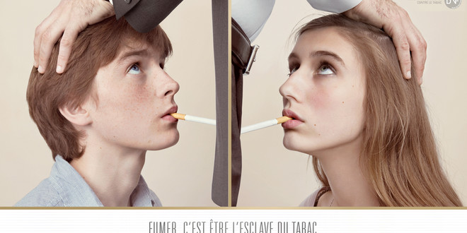 Campagne anti-tabac : la pipe de travers. Cigare10