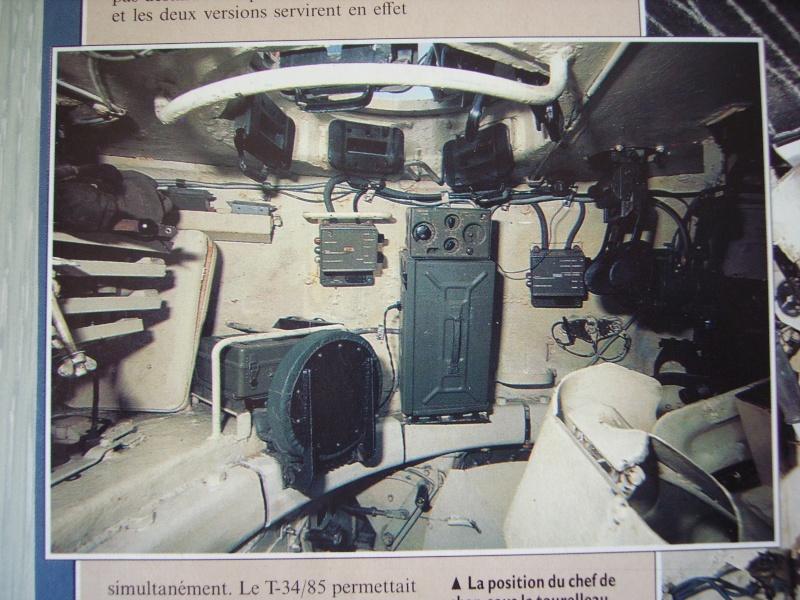 Photo Intérieur Tourelle T34 00121
