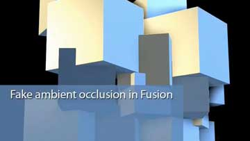 [tuto] Creer une fausse occlusion sous Fusion Fusion10
