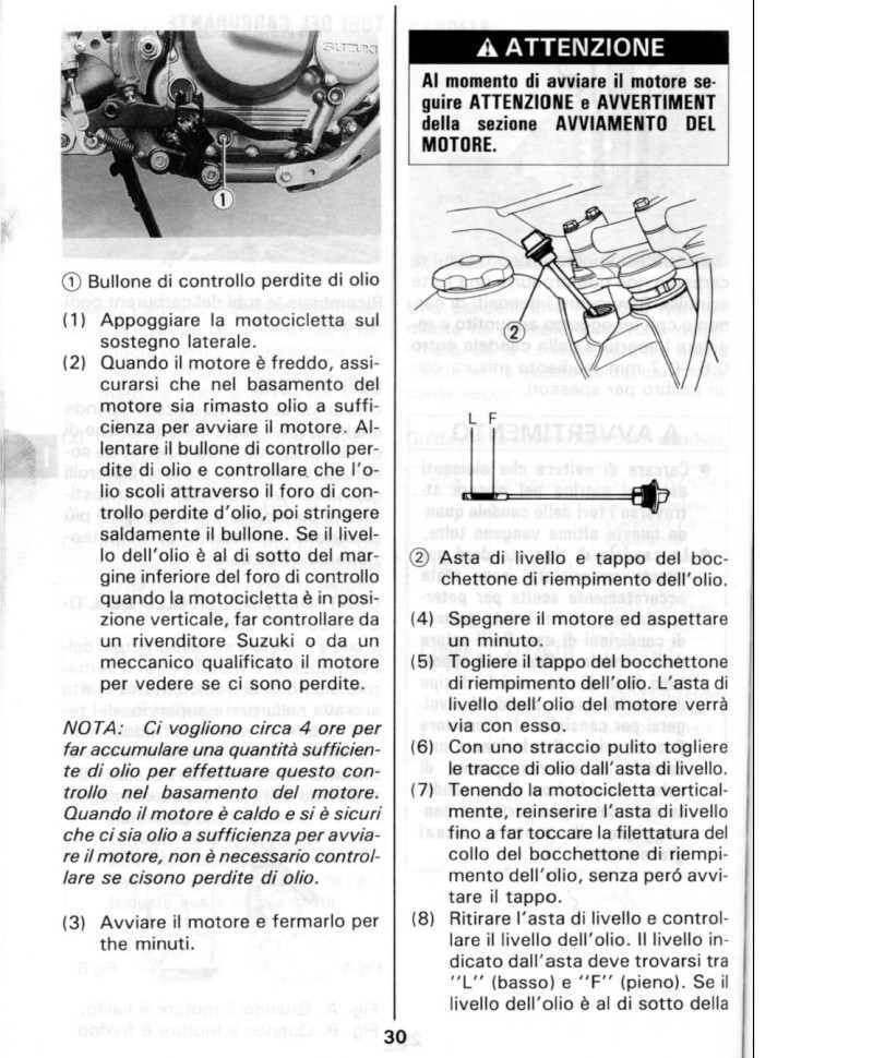Modifica per controllare olio motore. Immagi11