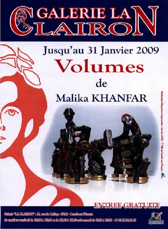 Premiere Expo seule de Mali.k Affich10