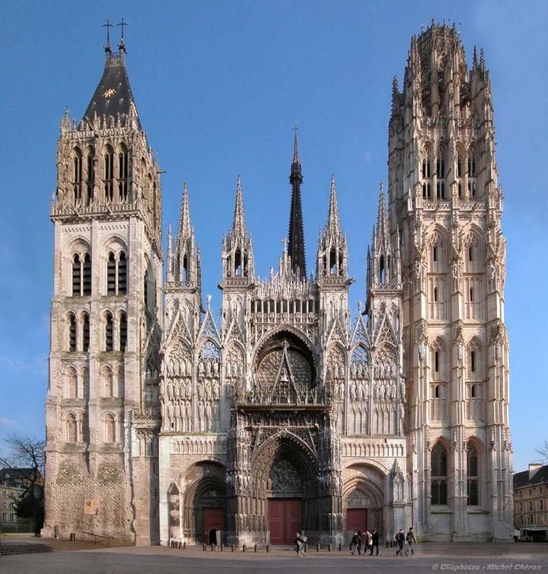 Edifices religieux - Page 6 Rouen-10