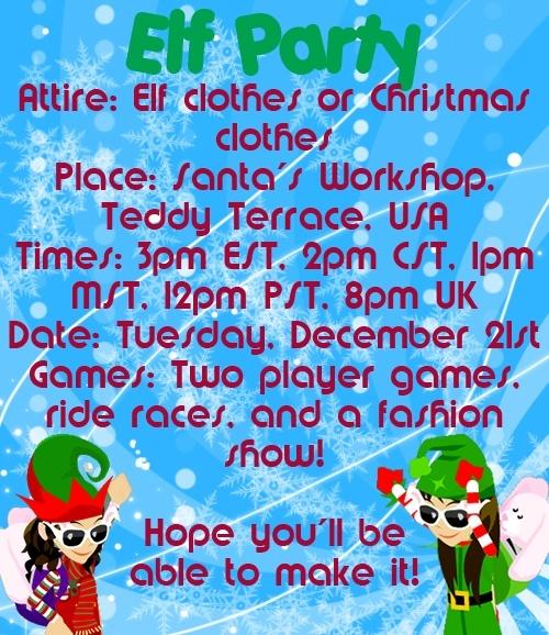 Elf Party!  Elfpar11