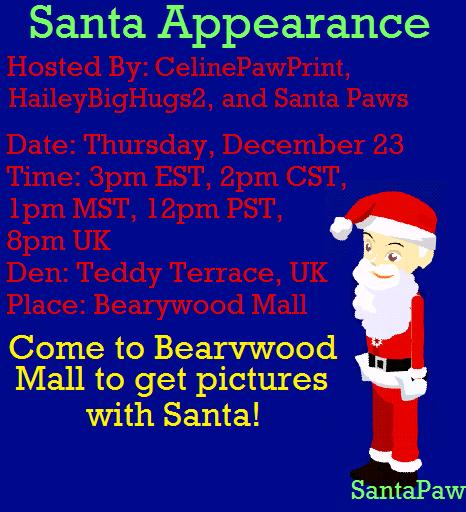 Santa Appearance! (today) Santaa11