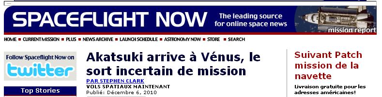 Akatsuki (Venus Climate Orbiter) - Mission de la sonde spatiale - Page 2 Akatsu15