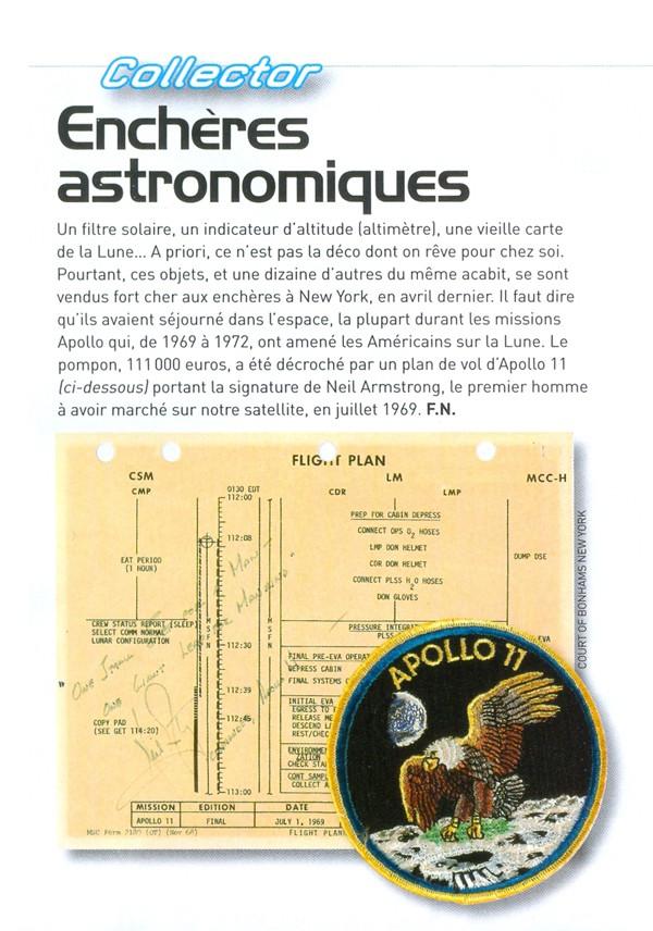Objets ayant été dans l'espace... Quelques astuces de collection Collec10