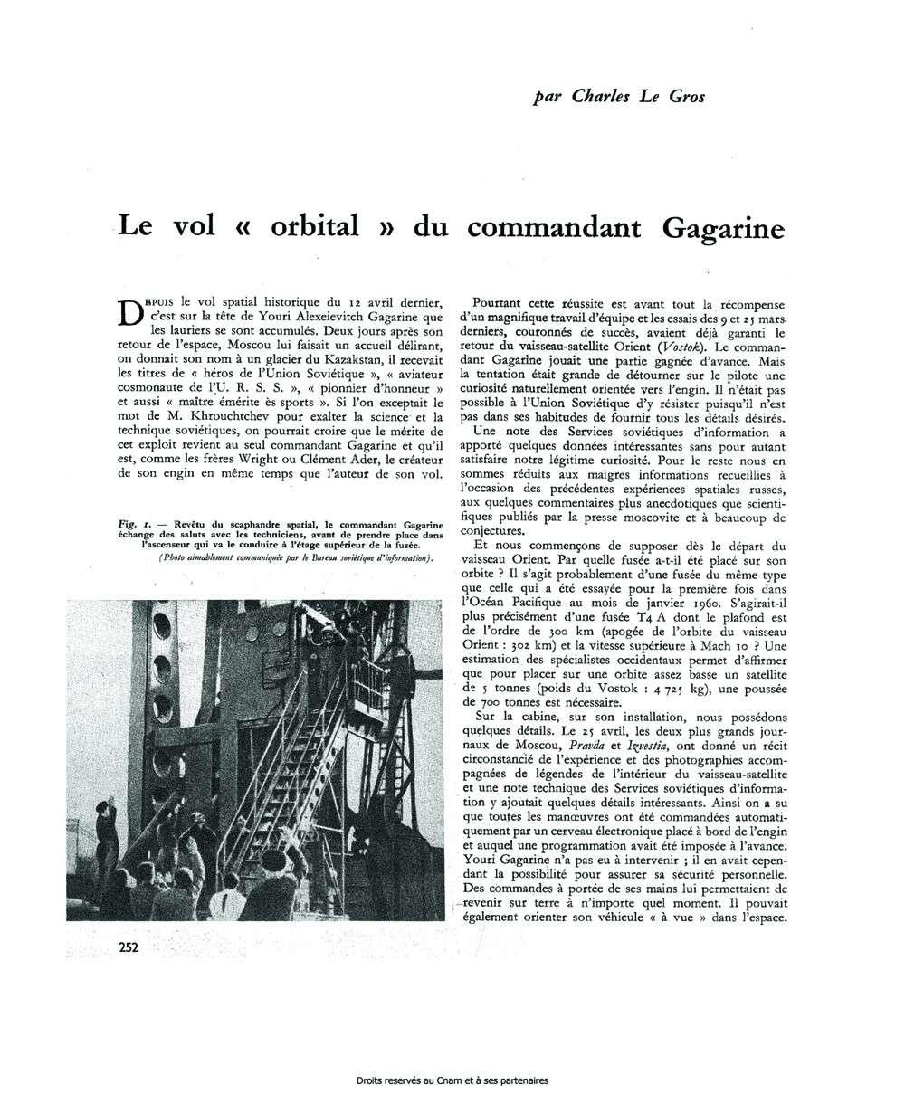 50 ème anniversaire Vol Gagarine - Page 2 Gagari16