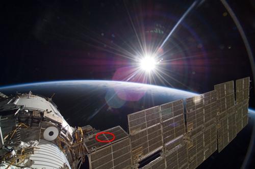 Entretien technique de l'ISS Iss10