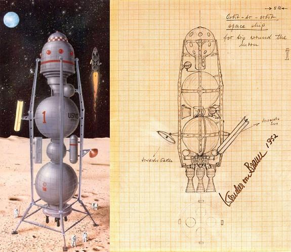 Littérature Spatiale des origines à 1957 - Page 18 Vonbra13