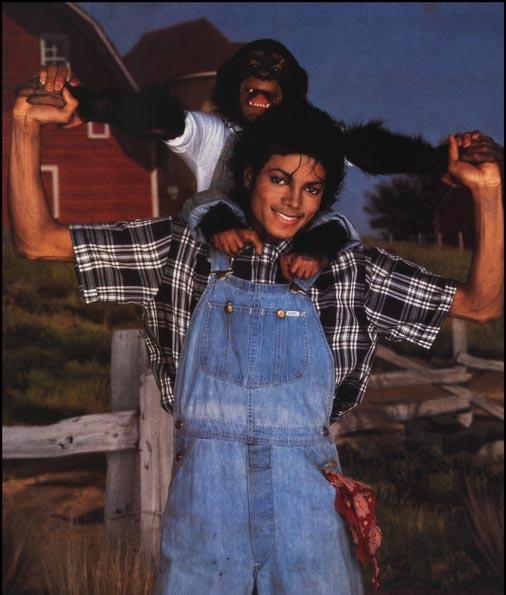 Collection MJ-Story : Michael et les animaux ^^ - Page 3 1984_m10