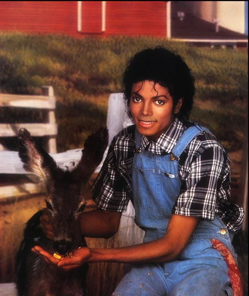 Collection MJ-Story : Michael et les animaux ^^ - Page 3 1984_m12