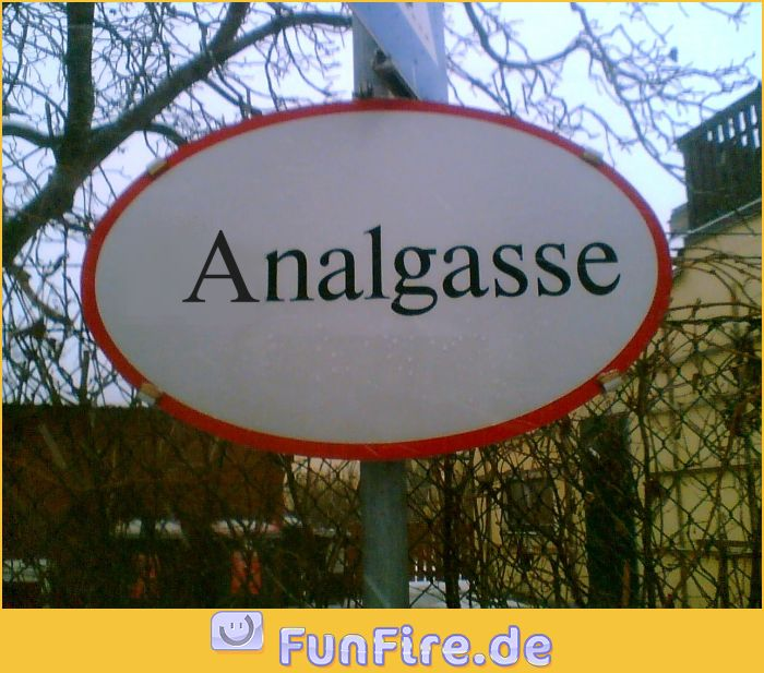 Lustige Ortsnamen Analga10