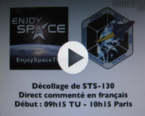 Décollage de STS-130 en, direct et en français Img_2023