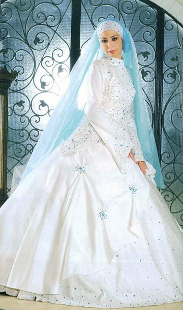 تمتعي بلباسك الشرعي يوم زفافك 93dcc510