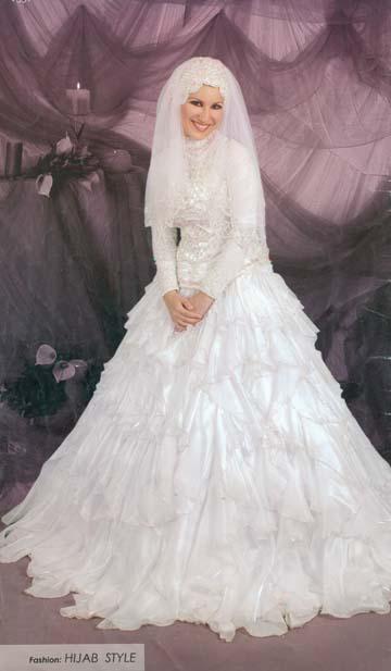 تمتعي بلباسك الشرعي يوم زفافك Start211