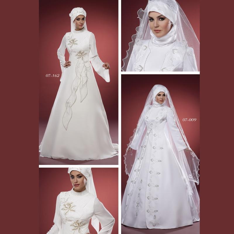 تمتعي بلباسك الشرعي يوم زفافك Turkey10