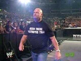 Steve Austin vs Chris Jericho vs The Brian Kendrick(Triple Treath Match) 383110