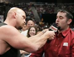 Steve Austin vs Chris Jericho vs The Brian Kendrick(Triple Treath Match) Scsa0710