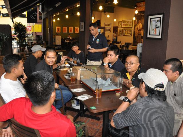 LAPORAN TEH TARIK SESSION@BANGI KOPITIAM SG. BULOH Kuk-ge10