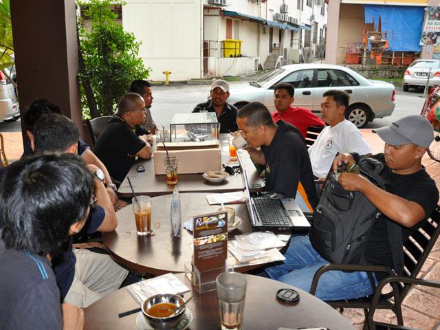 LAPORAN TEH TARIK SESSION@BANGI KOPITIAM SG. BULOH Paskau10
