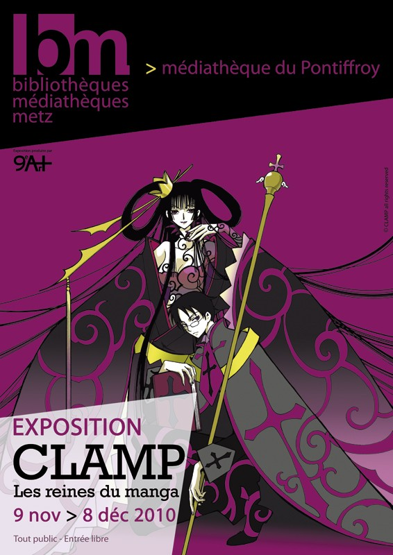 Expo Clamp : Les Reines du Manga Expo-c10