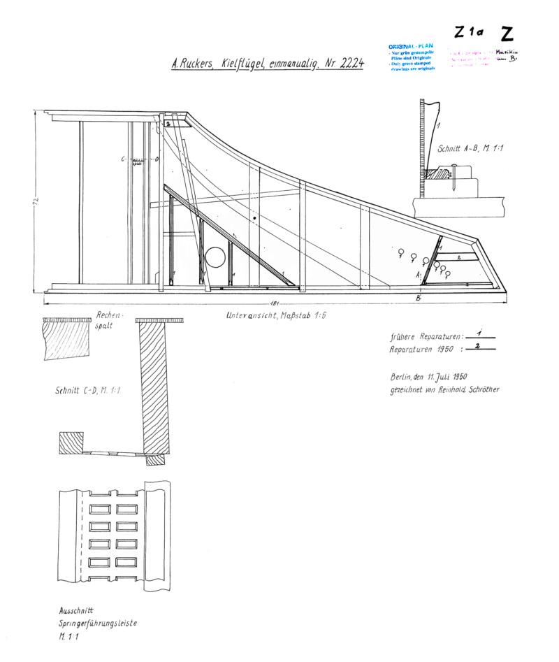 [Lutherie] Fabrication d'un clavecin. 06_jui21