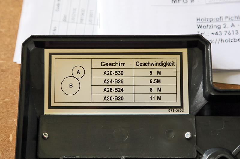Entraineur pour toupie Holzprofi HP32 06_sep35