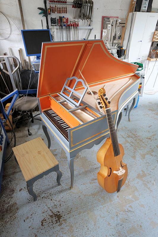 [Lutherie] Fabrication d'un clavecin. - Page 30 07_sep19