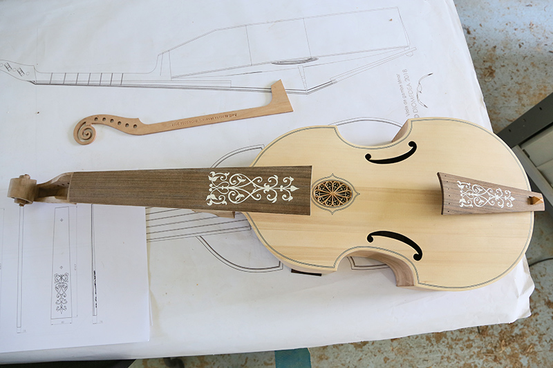 [Lutherie] Viole de gambe ténor. - Page 10 09_avr14