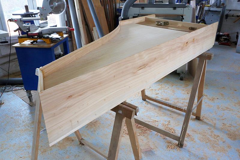 [Lutherie] Fabrication d'un clavecin. - Page 6 09_mar14
