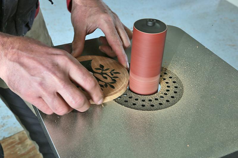 Ponceuse à cylindre vertical oscillant Jean l'Ébéniste PAO230 10_jui14