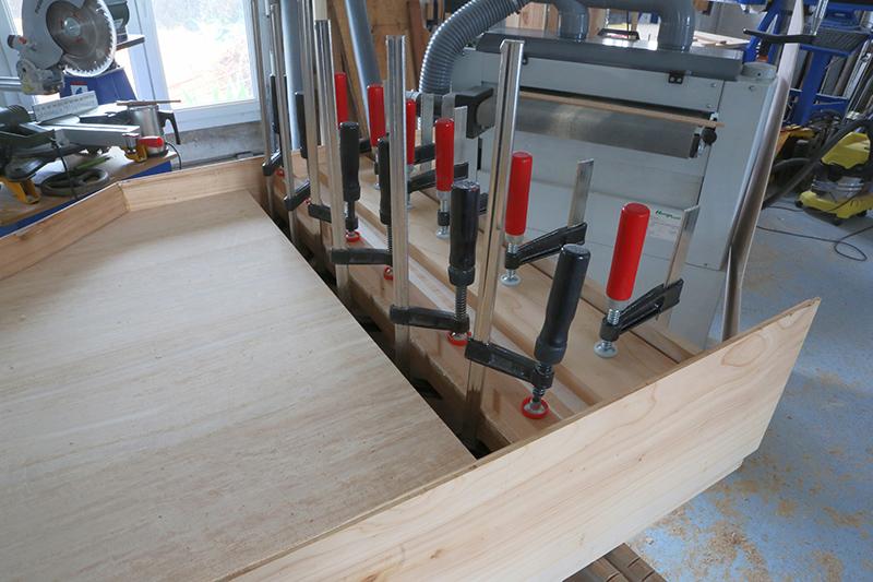 [Lutherie] Fabrication d'un clavecin. - Page 6 10_mar20