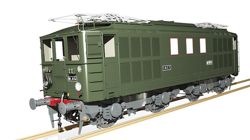 Locomotive électrique BB 4100/4600 SNCF ex MIDI en zéro. - Page 2 13_jui33
