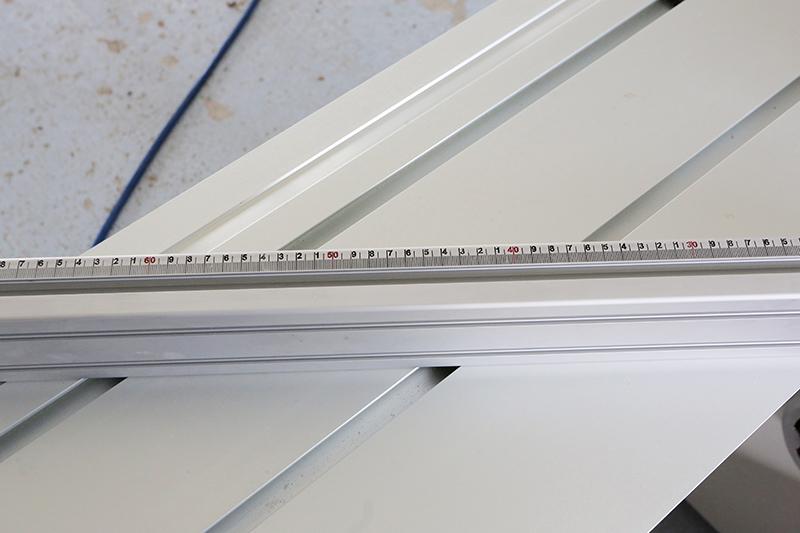 [Fabrication] Guide de coupe angulaire pour scie à format II 19_jui43