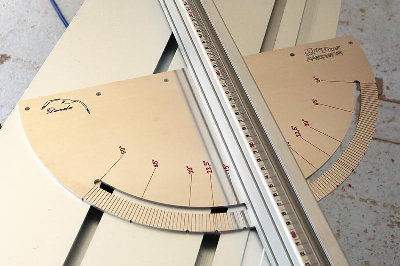 [Fabrication] Guide de coupe angulaire pour scie à format II 20_jui43