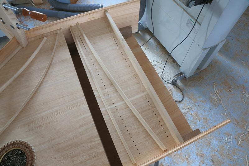 [Lutherie] Fabrication d'un clavecin. - Page 8 21_mar17