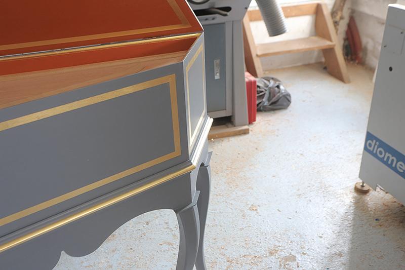 [Lutherie] Fabrication d'un clavecin. - Page 23 23_mai45