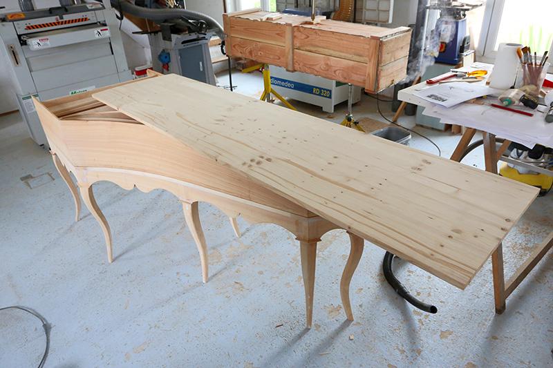[Lutherie] Fabrication d'un clavecin. - Page 17 24_avr19