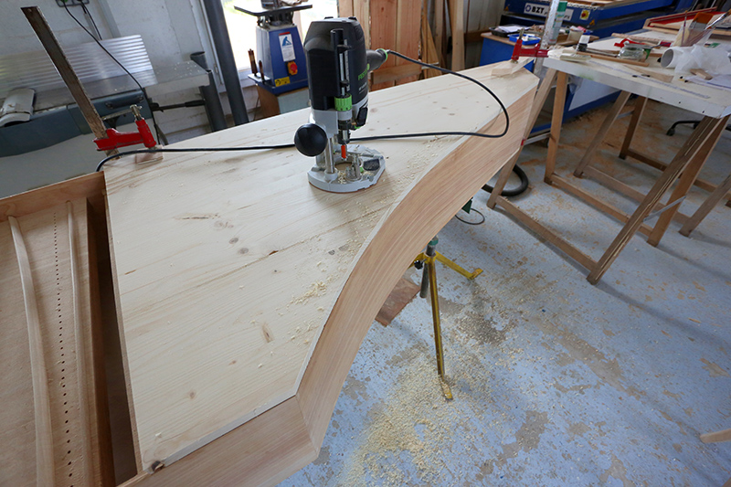 [Lutherie] Fabrication d'un clavecin. - Page 17 25_avr13