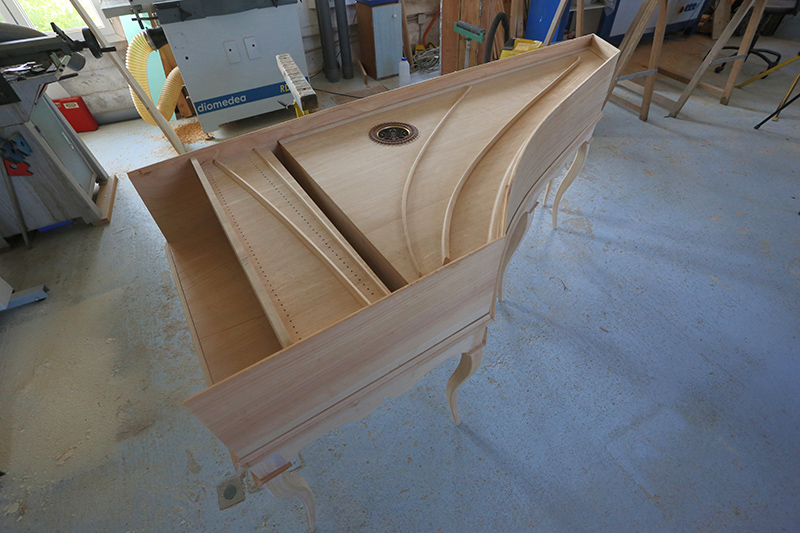 [Lutherie] Fabrication d'un clavecin. - Page 17 25_avr18