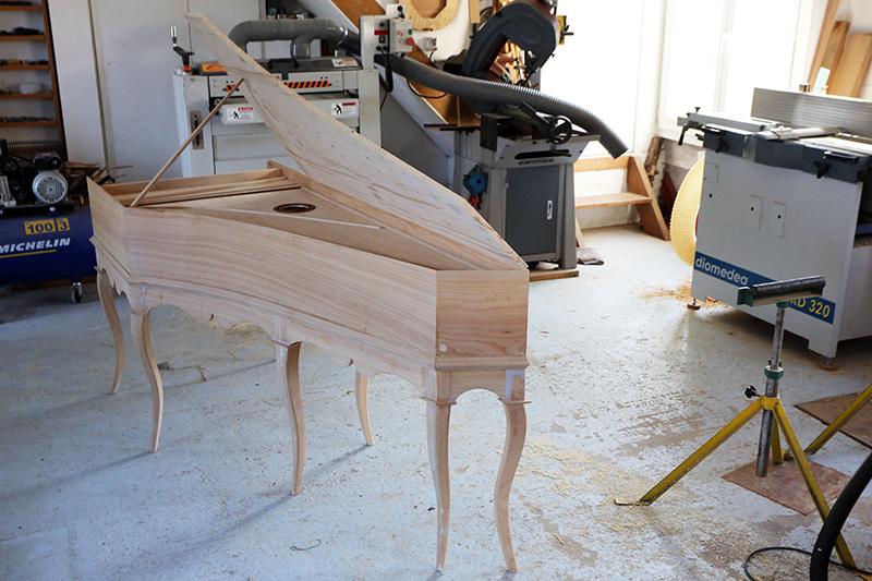 [Lutherie] Fabrication d'un clavecin. - Page 17 25_avr19