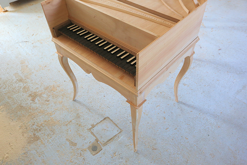 [Lutherie] Fabrication d'un clavecin. - Page 17 25_avr20