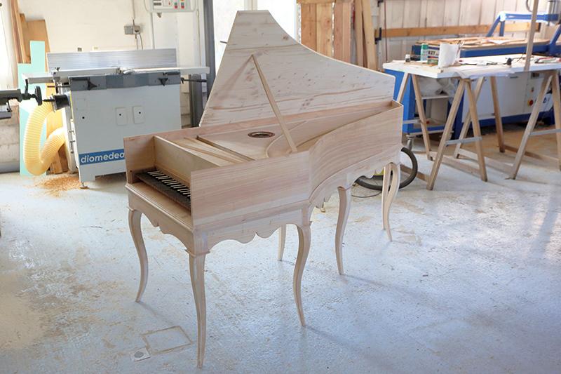 [Lutherie] Fabrication d'un clavecin. - Page 17 25_avr21