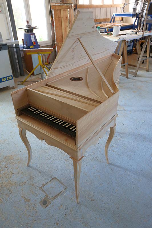 [Lutherie] Fabrication d'un clavecin. - Page 17 25_avr22