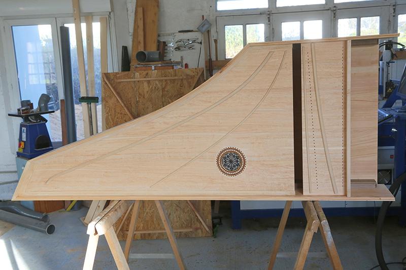 [Lutherie] Fabrication d'un clavecin. - Page 10 25_mar11