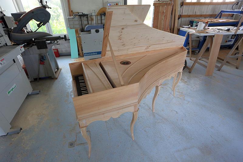 [Lutherie] Fabrication d'un clavecin. - Page 18 26_avr23