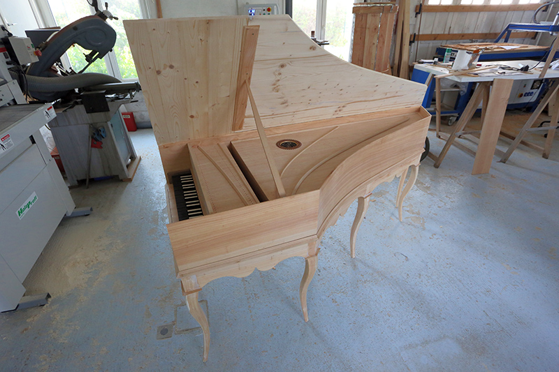 [Lutherie] Fabrication d'un clavecin. - Page 18 26_avr25