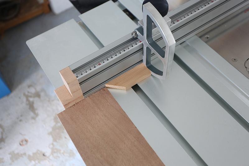 [Fabrication] Guide de coupe angulaire pour scie à format II - Page 3 27_jui21